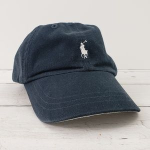 RALPH LAUREN POLO Infant Baseball Hat Cap Blue